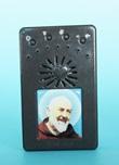 Rosario elettronico grigio San Padre Pio da Pietrelcina