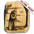 Quadretto legno ulivo San Francesco