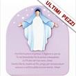 Pala Madonna con preghiera Ave Maria glicine
