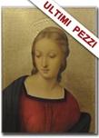 Tavola Madonna del cardellino foglia oro