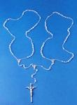 Corona rosario doppia Sposi Matrimonio cristallo