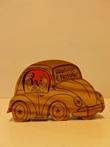 Natività legno ulivo automobile