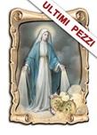 Quadretto sagomato 3D Madonna Miracolosa