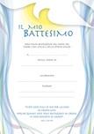 "Diploma Battesimo ""Il mio Battesimo"""