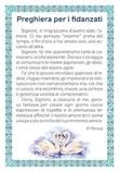 """25 cartoline """"Preghiera per i fidanzati"""" Cartoleria"""
