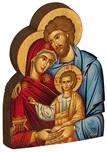 Icona sagomata Sacra Famiglia