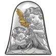 Icona campana Angelo Custode argento