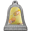 Icona campana Battesimo argento sonaglio
