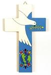 Croce equosolidale colomba della pace