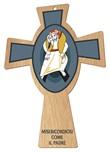 Croce bracci azzurri logo Giubileo della Misericordia 2015