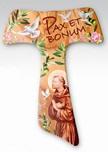 Croce Tau Pax et bonum San Francesco d'Assisi