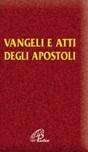 Vangelo e Atti degli Apostoli Taglio oro c/scatola