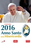 """Calendario 2016 da parete """"Anno Santo della Misericordia"""" San Paolo"""