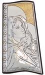 Icona a tegola argento Madonna Ferruzzi