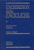 Enchiridion delle encicliche. Vol. 7: Libro di
