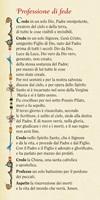 """10 Segnalibri """"Professione di fede"""" Cartoleria"""