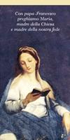 10 Segnalibri Preghiera Maria Papa Francesco Cartoleria