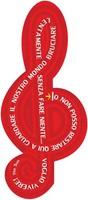 """20 Segnalibri """"La chiave della RABBIA"""" Cartoleria"""