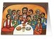"""Biglietto """"Dio ci invita alla sua mensa…"""" Festività, ricorrenze, occasioni speciali"""