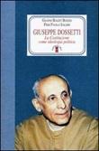 Giuseppe Dossetti. La Costituzione come ideologia politica Libro di  Gianni Baget Bozzo, Pier P. Saleri