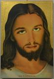 Tavola Gesù confido in te foglia oro  Arte sacra