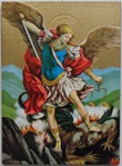 Tavola San Michele arcangelo foglia oro