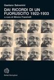 Dai ricordi di un fuoruscito 1922-1933 Ebook di  Gaetano Salvemini