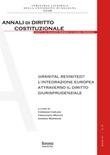Granital Revisited? L'integrazione europea attraverso il diritto giurisprudenziale Libro di