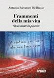 Frammenti della mia vita Libro di  Antonio Salvatore De Biasio