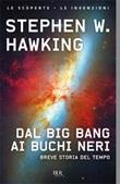 Dal big bang ai buchi neri. Breve storia del tempo Libro di  Stephen Hawking