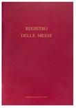 Registro delle messe Articoli per la liturgia