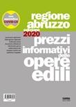 Prezzi informativi delle opere edili della Regione Abruzzo 2020 Libro di