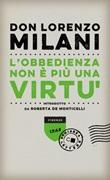 L' obbedienza non è più una virtù Ebook di  Lorenzo Milani