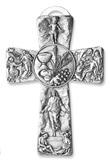 Croce decorata Prima Comunione pane e vino Festività, ricorrenze, occasioni speciali