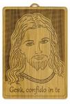Quadro Gesù Misericordioso ulivo