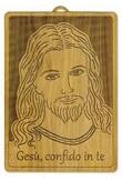 Quadro Gesù Misericordioso ulivo Arte sacra