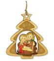 Addobbo natalizio albero con presepe Festività, ricorrenze, occasioni speciali