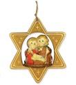 Addobbo natalizio stella con presepe Festività, ricorrenze, occasioni speciali