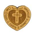 Magnete Papa Francesco cuore