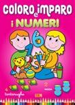 Coloro e imparo i numeri Libro di