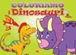 Coloriamo i dinosauri Libro di