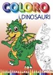 Coloro i dinosauri Libro di