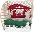 Biglietto Natale origami - Presepe Re Magi Festività, ricorrenze, occasioni speciali