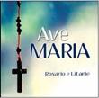 Ave Maria. Biglietto con CD Festività, ricorrenze, occasioni speciali