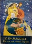 "Poster Natale ""O Emmanuele"" Festività, ricorrenze, occasioni speciali"