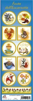 Serie da 10 sticker adesivi Prima Comunione (mod. A) Festività, ricorrenze, occasioni speciali