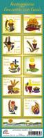 Serie da 10 sticker adesivi Prima Comunione (mod. B) Festività, ricorrenze, occasioni speciali