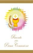 25 Pieghevole Ricordo della Prima Comunione Festività, ricorrenze, occasioni speciali