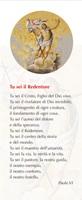 """50 Segnalibri """"Preghiera di Paolo VI a Gesù Redentore"""" Festività, ricorrenze, occasioni speciali"""