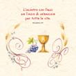 """Biglietto con CD Prima Comunione """"L'incontro con Gesù"""" Festività, ricorrenze, occasioni speciali"""